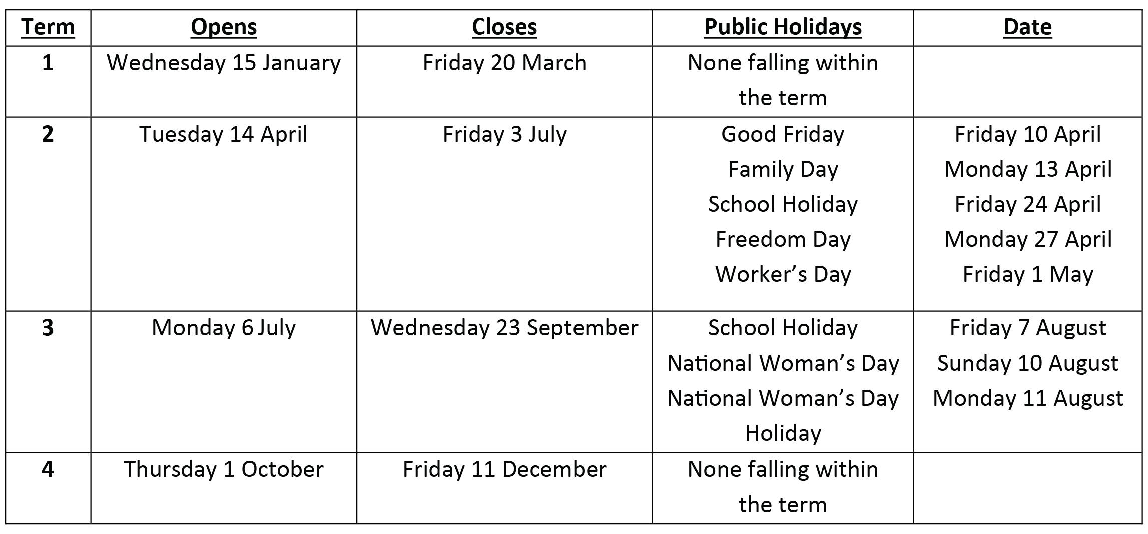 Montessori Term Dates-01-01-01